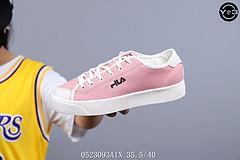 韩国代购FILA 斐乐帆布板鞋 鞋身包头设计 极具校园风格 百搭帆布鞋 女鞋 专为女生打造 最小码35.5 可供更多选择  ID:0523093A1X Size:35.5-40