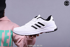 阿迪达斯Adidas RUNNING MEN透气飞织慢跑鞋  SWSIZE:36/44  编码:17098A2X668