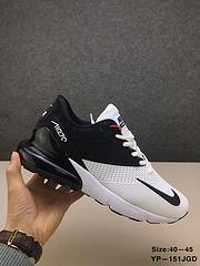 Nike qq红包秒抢软件 AIR MAX 270  纳米滴塑运鞋后置顶级气垫 Size:40—45 YP—151JGD