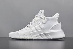 顶级真标Adidas EQT BASK ADV 三叶草运动跑步鞋男女全白 DA9534 36-44