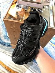 BALEN世家充电夜光鞋D购级男女363738394041424344P0001200秋季新款的鞋子三代30老爹鞋自然动物皮与未来前卫科技的完美结合