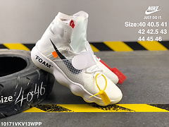 耐克OFFWHITEXNIKEHYPERDUNK2017OW白山联名天足高帮针织高频面男子篮球鞋AJ4578100编号10171VKV13WPP