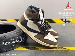耐克头层皮乔丹一代AJ1高帮板鞋NIKEAIRJORDAN1MIDGS编码10151KJN11WRP