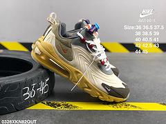 耐克真标带半码NikeAirMax270三代React全掌React缓震AirMax270半掌大气垫货号CT2864400编号0328XKN82QUT