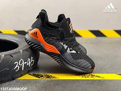 阿迪达斯冬款加绒阿尔法一代编织飞线面运动休闲鞋编号1227JGS08QQP