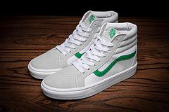 Vans万斯高帮真标 SK8-HI 天猫同款50周年纪念版莫吉托绿灰白高帮男鞋女鞋情侣休闲滑板鞋 36-44