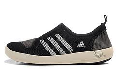 阿迪达斯SL 夏天透气情侣涉水鞋超A品质 黑灰白36---44