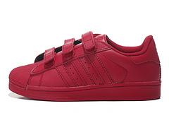阿迪达斯贝壳头童鞋26--35(红色)