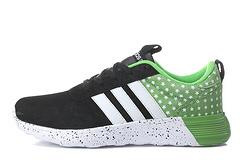 阿迪达斯NEO 2代 世界之星 精装版 黑白绿 男女鞋36-44