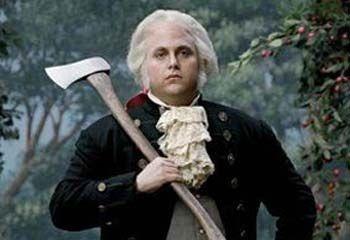 华盛顿砍樱桃树的故事