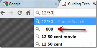 quickcalculationinChrome1