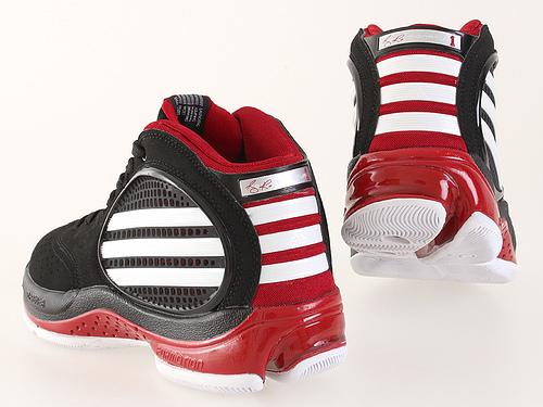 正品 阿迪达斯 adidas 篮球鞋 比卢普斯 黑白红 g08215 海旺导购网 专