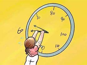 请给你的减肥,支付充足的时间成本