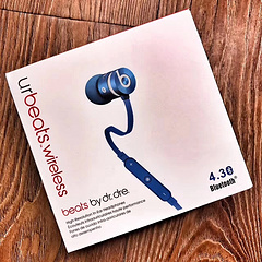 蓝牙款 urbeats 耳塞式无线蓝牙B耳机 入耳式蓝牙耳机    蓝色