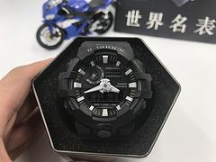 正品原单卡西欧手表casio g-shock GA-700系列 黑银白