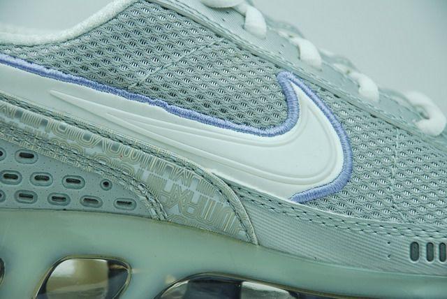 正品耐克2006款跑鞋Nike 全掌气垫跑步鞋灰紫女款