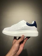 原厂麦坤McQueen麦昆小白鞋原版进口内外小牛皮独家原装底增高4cm细节完美