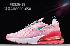 原装公司级NikeAirMax270贾卡耐克气垫跑步鞋AH8050650