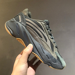 AdidasYeezyBoost700侃爷椰子700v2晶洞阿迪达斯复古老爹鞋原版开发细节完美脚感满分FU6684