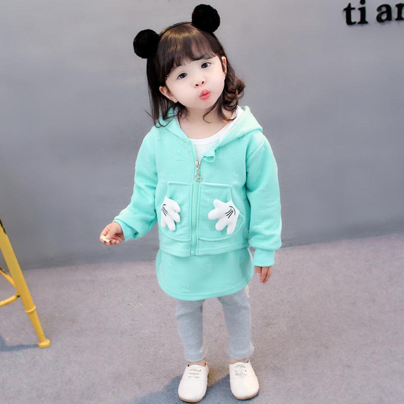 e0a96fed1 2019 Baby Girl Clothes 2018 Autumn Girl Dress Baby Cotton Long ...