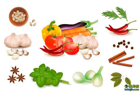 水果 蔬菜 水果设计 蔬菜设计 美食 食物 矢量40