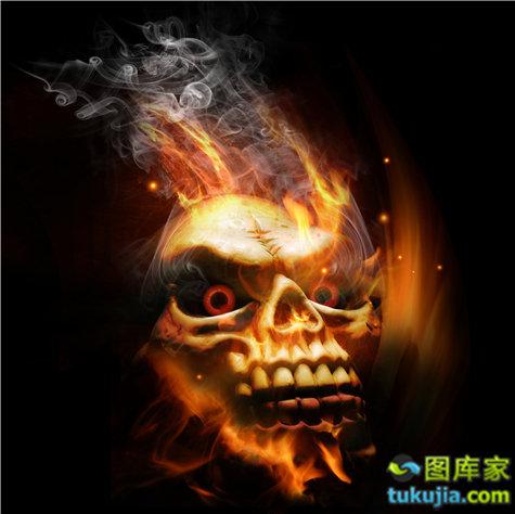 骷髅 skull 头骨 恐怖 危险 骷髅图案 骨骼 JPG946