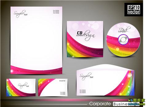 VI设计 企业VI 企业视觉 VI视觉 视觉统一 矢量176