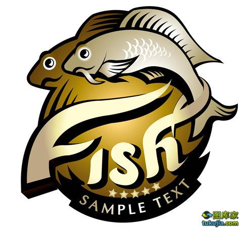 钓鱼 钓鱼图标 钓鱼运动 钓具logo 矢量35