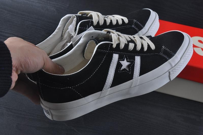 092793b1e378 商品名称  真标日产最高端CONVERSE JACK STAR STAR amp BARS J SUEDE 情侣款36-44  黑色品牌货源批发代理,支持货到付款或淘宝交易