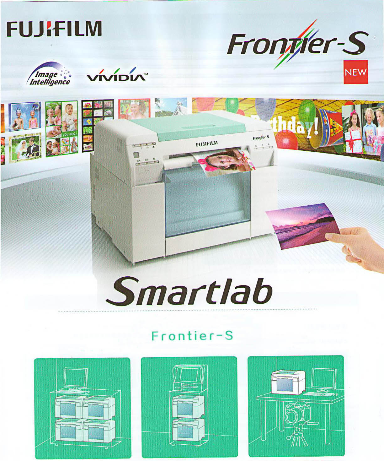 Fujifilm Frontier-S photo printer