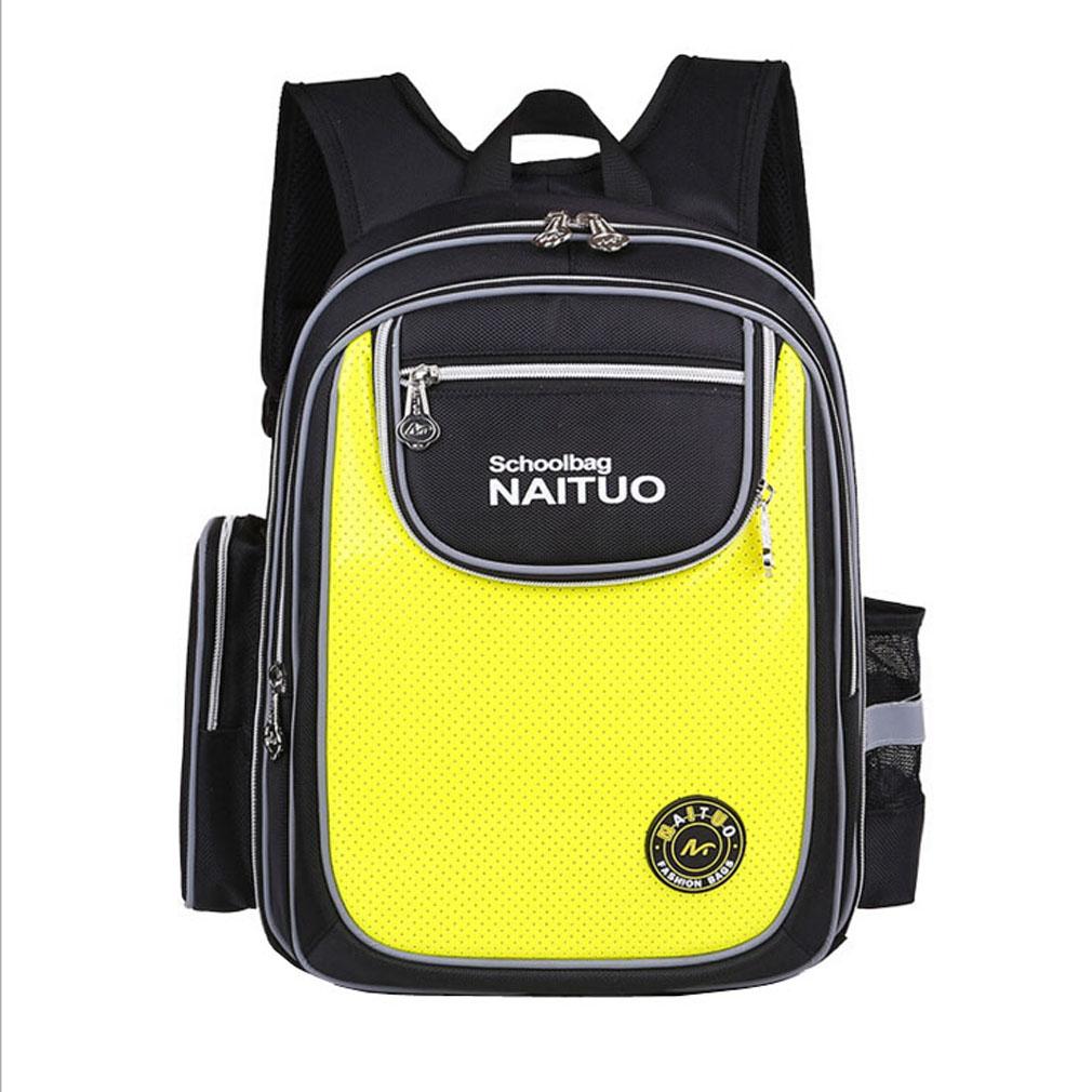 Grade 3-6 Primary School Boys School Bags Daypack Kids School Backpacks  Schoolbag Bookbag yellow   Kilimall Kenya 31335c97d8de6