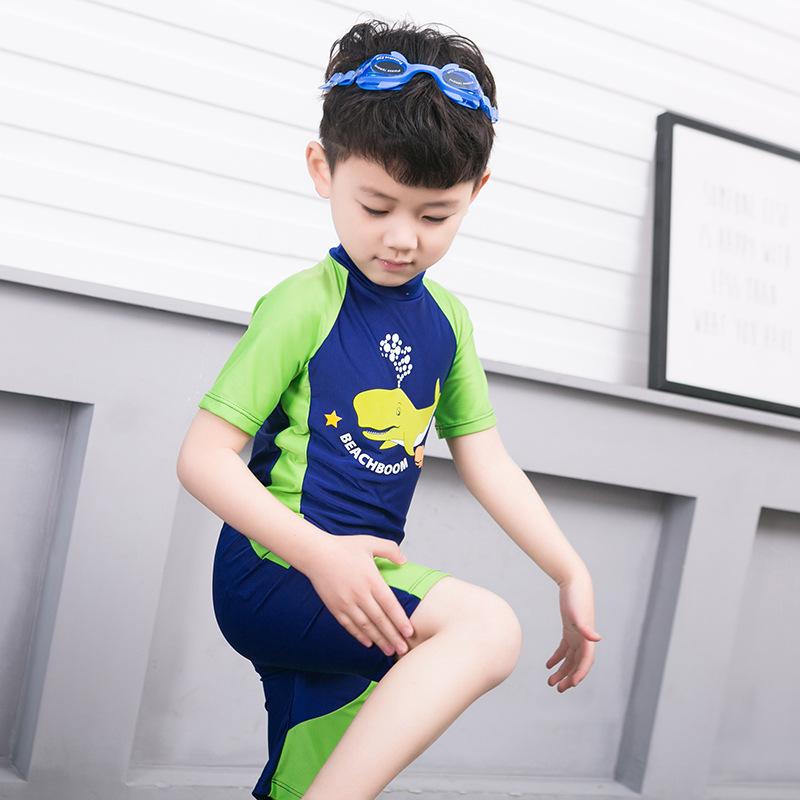 8cd31c291b 2-13Y Children Boys One Piece Swimsuit Kids Little Boy Swimwear ...