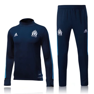 17/18 MARSEILLE SOCCER SURVETEMENT FOOTBALL TRACKSUIT