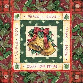 立刻就把DIM家的圣诞铃铛给完成了~