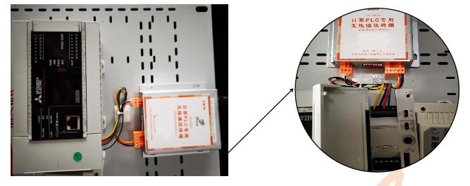 三菱FX5U系列PLC Modbus亚博ios下载地址通信方案-实物接线图.jpg