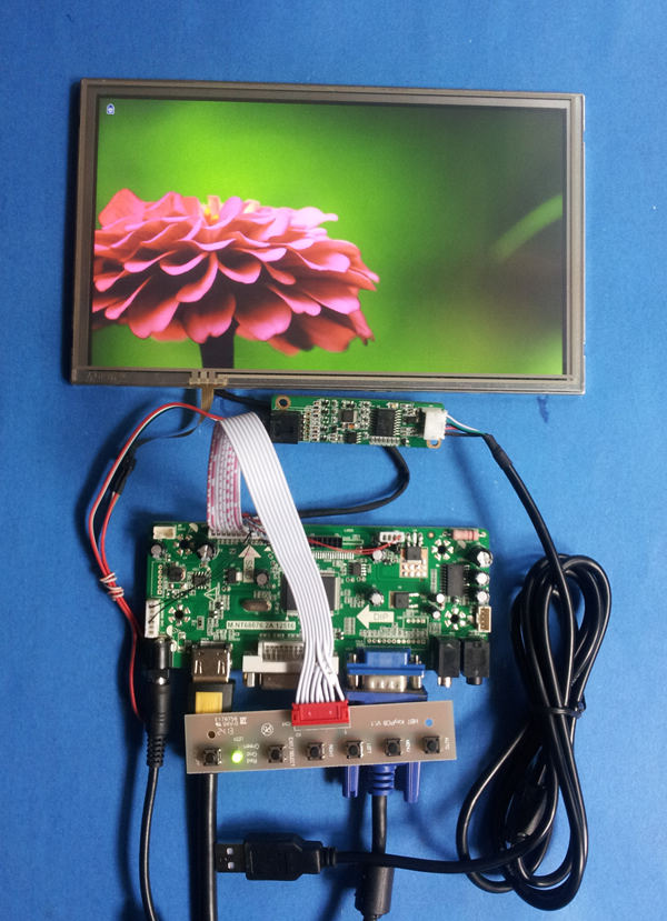 "HDMI VGA DVI  LCD Controller Board For 8.9/"" B089AW01 N089L6 LP089WS1 LCD Panel"