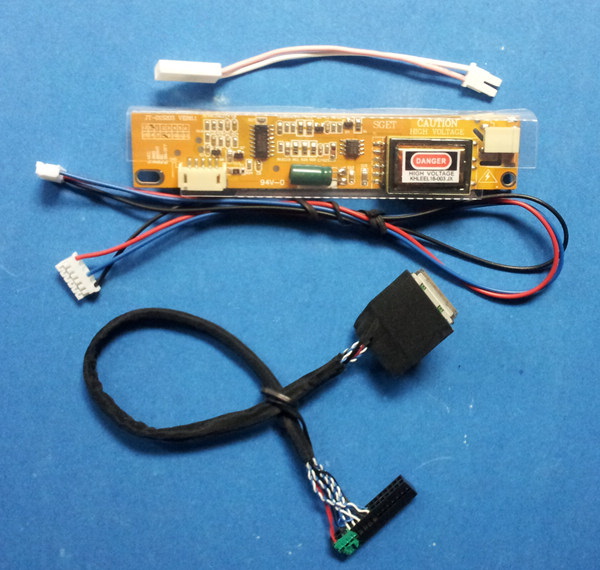 LVDS Cable + CCFL Inverter Board for 8.9inch 1280x768 N089A1-L01 ...
