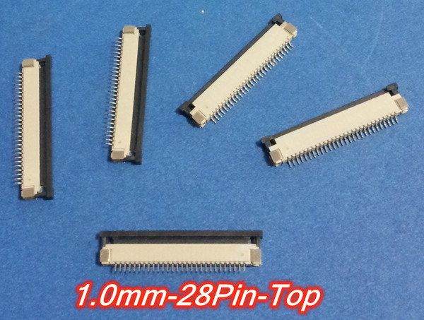 FFC//FPC Connector 11Pin Pitch 1.0mm Bottom Contact Pick Drawing Socket