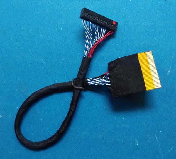 LVDS Cable for LTM200KT08 LTA320AN01-W LTMAT05 LTM240CL01 LTM230HT09 ...