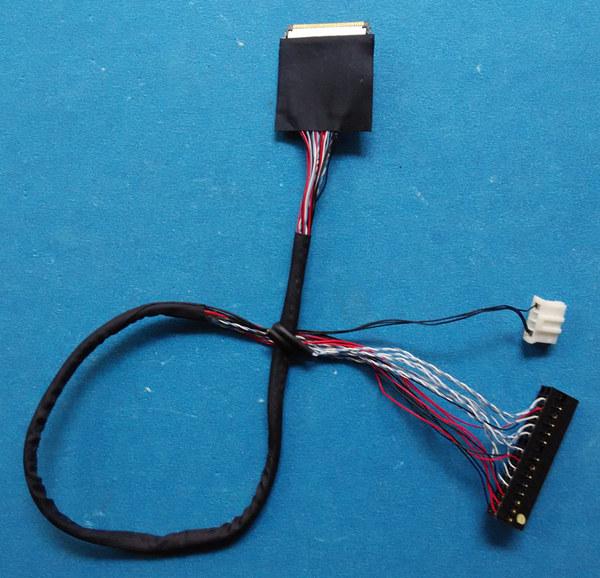 FI-JH40S-HF10 LVDS Cable for LCD N121I7-L01 N154C6-L01 N154C6-L02 ...