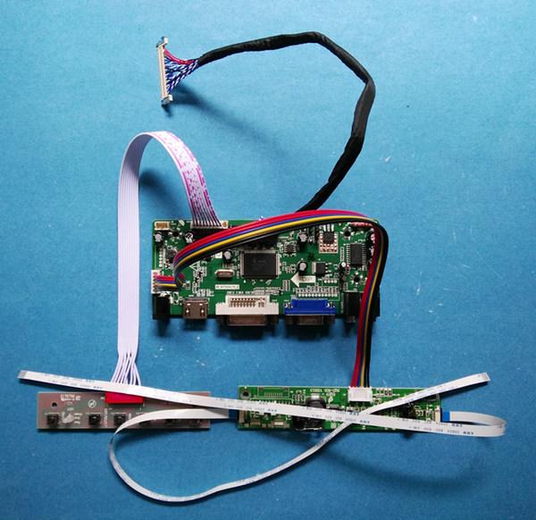 HDMI VGA DVI Audio Board for 18.5inch 1366x768 WLED LCD MT185GW01 V1 ...