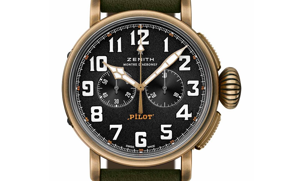 finest selection 258d9 76fa4 新表』Zenith 推出青铜表壳Heritage Pilot Extra Special ...