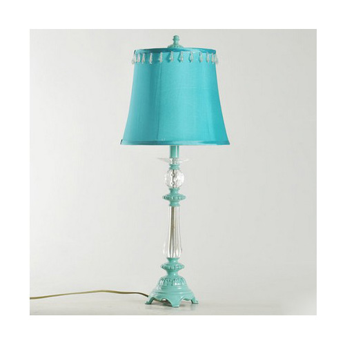 Simplicity style pink e27 height 68cm resin fabric bedroom - Lamp height for bedroom night table ...