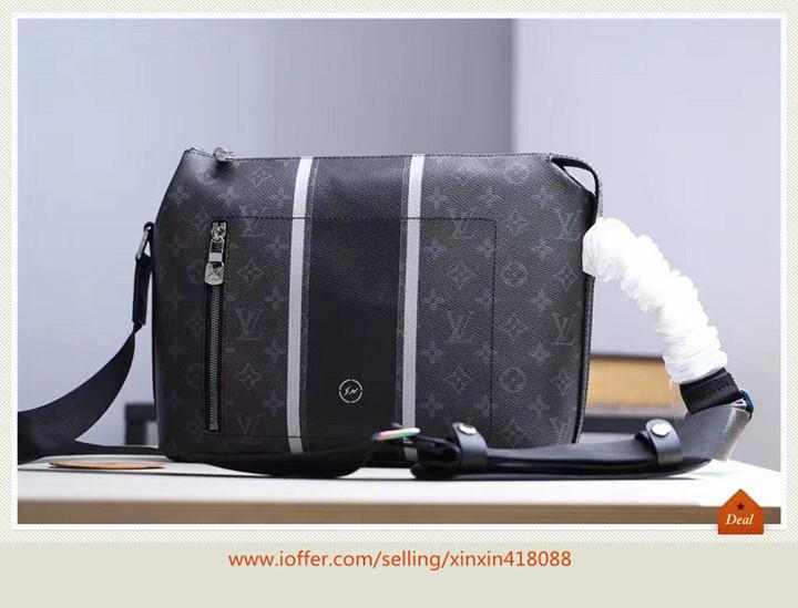 M43410 Men Apollo Messenger Eclipse Pm Briefcase Bag