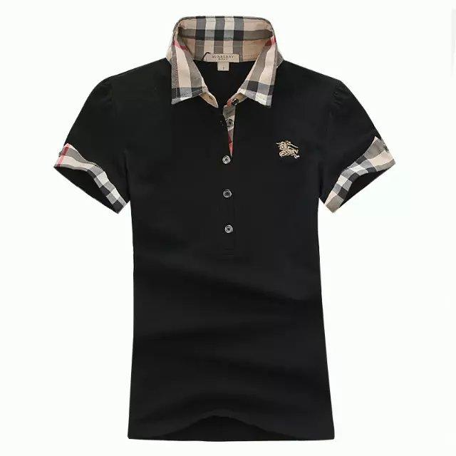 Burberry women's poloshirt jersey t-shirt shirt top C17
