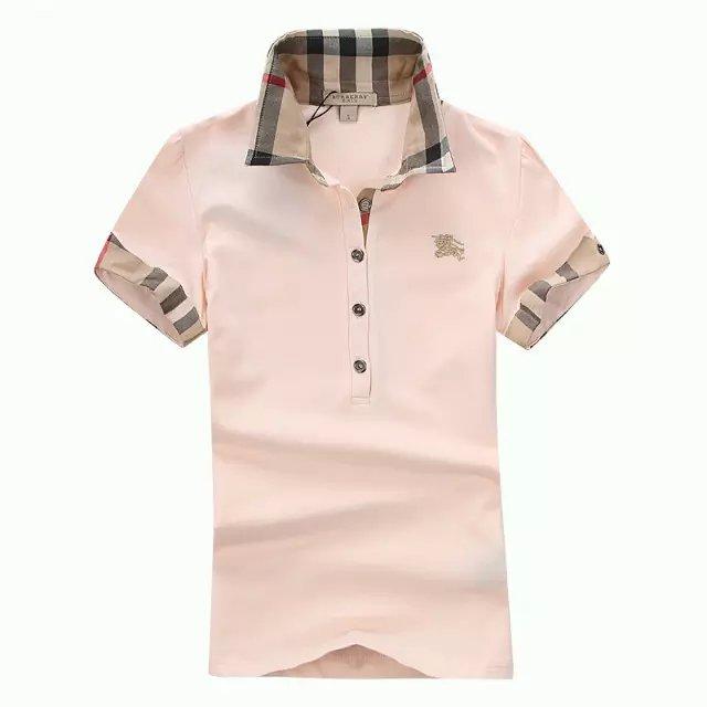 Burberry women's poloshirt jersey t-shirt shirt top C20