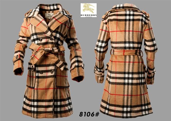 7473dee18344 Burberry women s woolen trench jacket coat C56