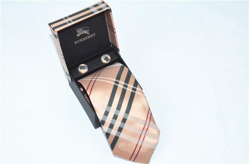 Burberry men's luxury neckwear Tie A10