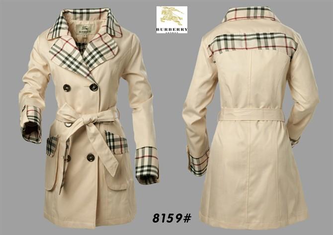 Burberry women's casual trench jacket coat C47