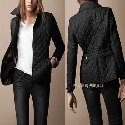 19df8dd4b0f3 Burberry women's slim quilted jacket coat S-XXXL C52